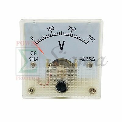 Panel Voltmeter 91l4 0-300v For Champion Power Cpe Gas Cng Generator 120240v Ac