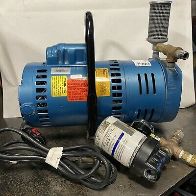 Gast Rotary Vane Vacuum Pump 1023-p152a-g608x Fresh Air Painting Spray Mask