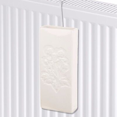 2 x Ceramic Radiator Hanging Humidifier Dry Air Water Humidity Control Moisture