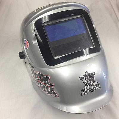 Huntsman Solar-powered Welding Helmet Ansi Z87 Csa Shade 9-13 Free Shipping