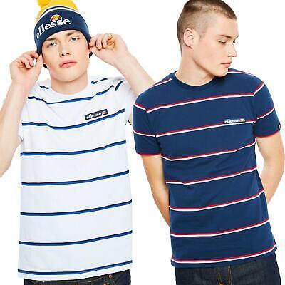 Ellesse Mezzo T-Shirt - Navy, White