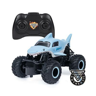 Official Megalodon Remote Control Monster Truck Shark Kids Toy 1:24 Scale 2.4GHz