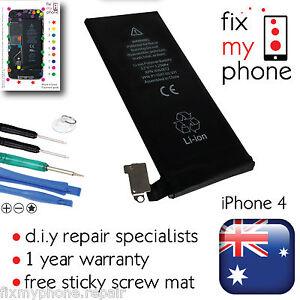 For Apple iPhone 4 Battery Original OEM Replacement 1420mAh