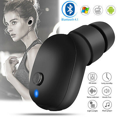 Bluetooth Wireless Waterproof Stereo Earphone Earbud Sport Headset Headphone New