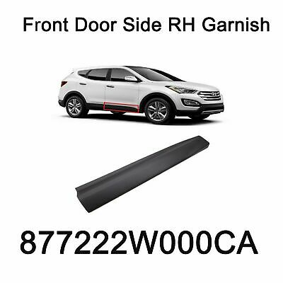 Genuine Front Door Side RH Garnish Oem 877222W000CA For Hyundai Santa Fe 13-16