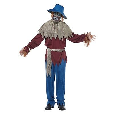 Creepy Scarecrow Costume (Creepy Scarecrow Men's Adult Halloween Costume, Mens Scarecrow)