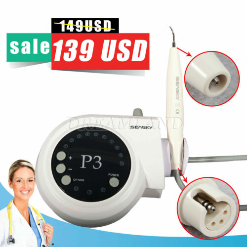 SKYSEA Dental Ultrasonic Piezo Scaler P3 Fit For Satelec DTE Handpiece Tips - $149.00