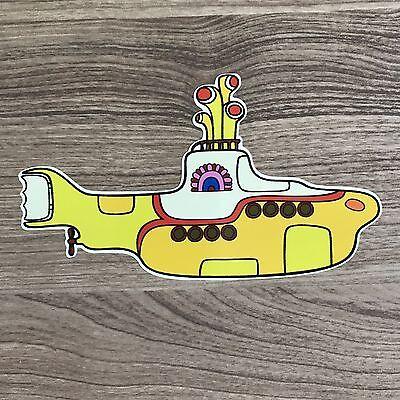 "The Beatles Yellow Submarine 5"" Wide Vinyl Sticker - BOGO"
