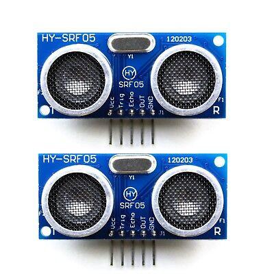 2 Pcs Hy-srf05 Hc-sr05 Precise Ultrasonic Range Sensor Module For Arduino