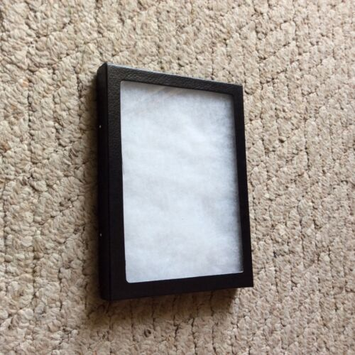 """(1 Only) 5-1/4 x 6-1/4 x 3/4"""" Display Case (""""Riker"""" type, US Made) FREE Shipping"""