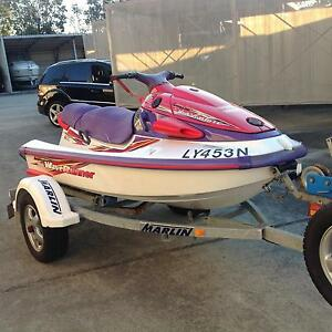 JetSki Yamaha Waverunner 1100 + trailer Salamander Bay Port Stephens Area Preview