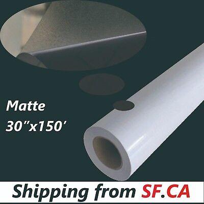 Matte Cold Laminating Film Monomeric 3.15mil Paper Adhesive Glue 30x150ft Roll