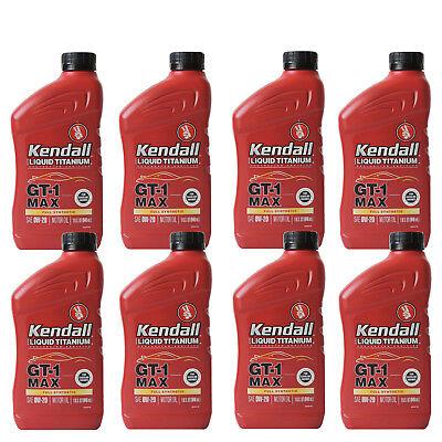 Full Synthetic 0W20 Motor Oil 8 Quarts In Case KENDALL GT1 Max w/liquid titanium comprar usado  Enviando para Brazil