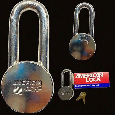 American Lock H11 Heavy Duty 2 Wide Lock 2 Two Keys Included