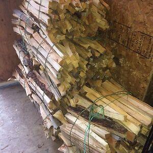 Kindling bundles wood