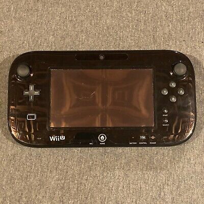 Official Genuine OEM Nintendo Wii U Black Replacement Gamepad Only #1