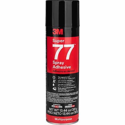 3m Super 77 Spray Adhesive 13.44 Oz. Net Wt.