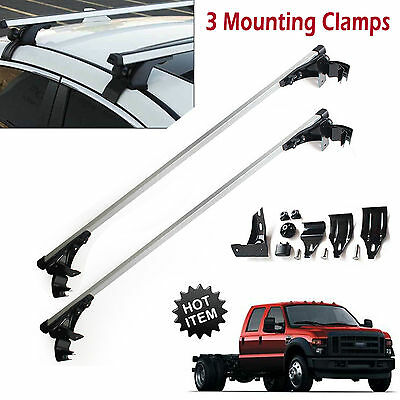 For Ford F-150 F-350 F-450 Car Top Luggage Cross Bar Roof Rack Carrier Skidproof