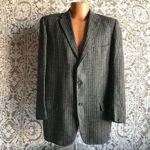 Vintage 1960s Gray Wool Tweed Men