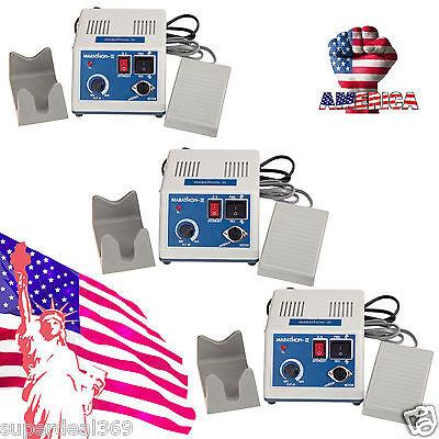 3 Sets Usa Portable Dental Lab Marathon Micromotor Polisher Unit 35k Rpm N3 Sale