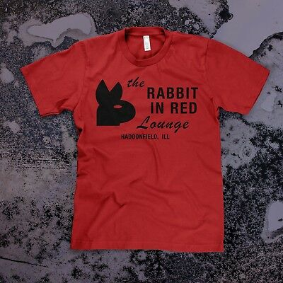 Halloween 1978 T-shirt (Rabbit in Red t-shirt, Unisex Red -- Michael Myers Halloween Movie 1978)