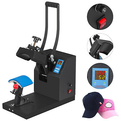 Digital Hat Cap Heat Press Machine Sublimation Transfer Steel Frame 5.5 X 3.5