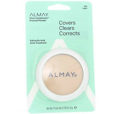 Almay Clear Complexion Pressed Powder Blemisheal All Shades Choose light Medium Almay Clear Complexion Powder