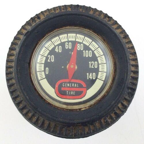 General Tire Truck Fridge Magnet Thermometer Temperature Vintage Fahrenheit S867