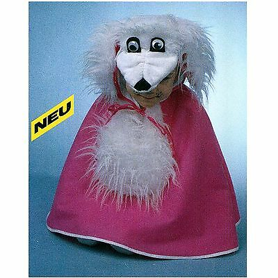 Rosa Pudel Hund Kostüm (Hund Schlappi 1-tlg. Umhang Gr. 98 Tier Fasching Kostüm Pudel rosa 1214913)