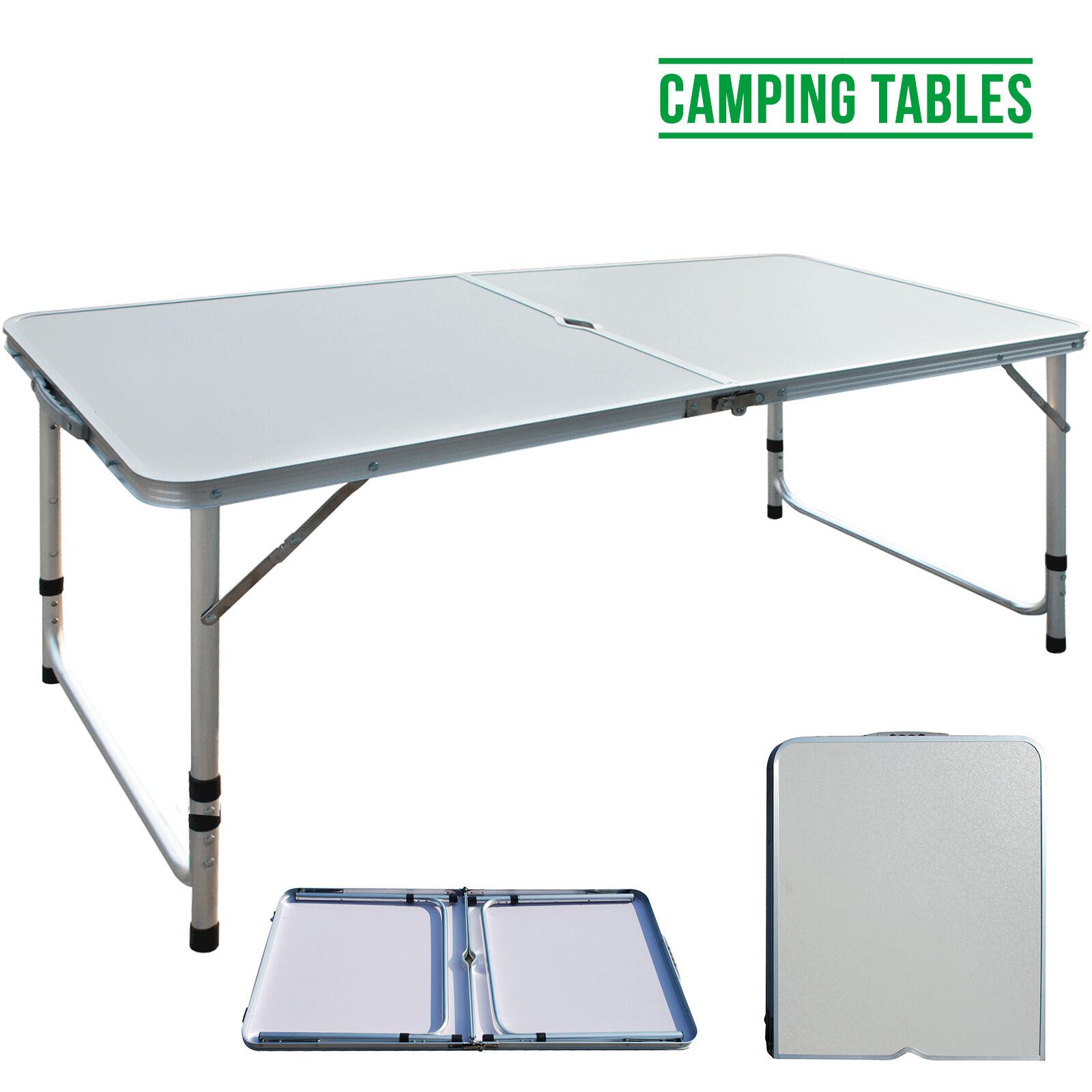 4ft Lightweight Aluminum High Adjustable Folding Camping