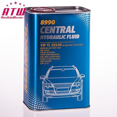 1L Zentralhydrauliköl Servolenkungsöl Grün VW, Audi, Seat, Skoda, Mercedes, BMW