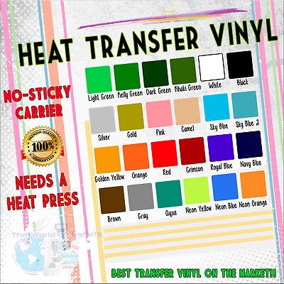 Pvc Transfer (Heat Transfer Vinyl PVC for Tshirts HTV 20