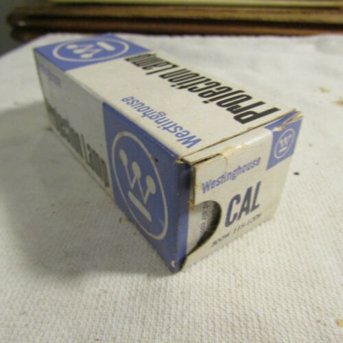 Vintage Westinghouse CAL Projector Projection Lamp Bulb 300W 120v NOS