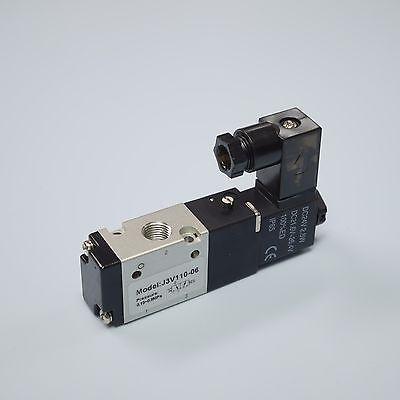 18 Pneumatic 32way Electric Directional Control Solenoid Valve 3v110-06-dc24v