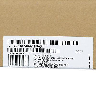 1pcs New Siemens 6av6 642-0aa11-0ax1 Simatic Touch Panel Us Free Shipping