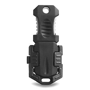 EDC Mini Stainless Steel Molle Webbing Buckle Self Defence Survival Pocket Tool