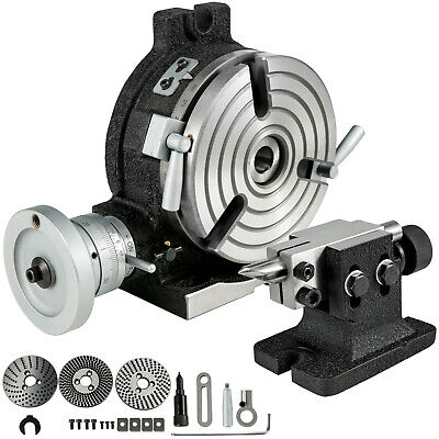 Rotary Table 6 3 Slot With Tail Stock Dividing Plates For Milling Machine