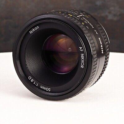 +Nikon AF NIKKOR 50mm f/1.8D Lens SLR DSLR Adapt to Mirrorless