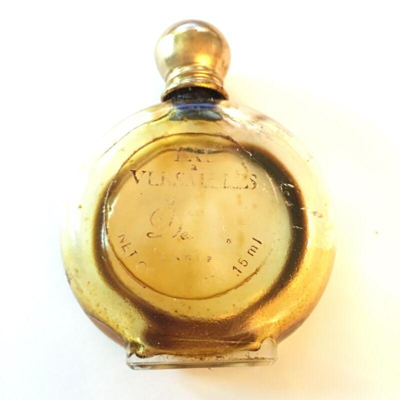 """Vintage JEAN DESPREZ """"Bal Versailles"""" Mini Perfume Bottle, Empty, Paris France"""
