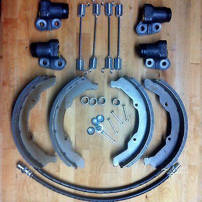 Bremsen SET VA für VW Bus T1 T2a 63-70 Radbremszylinder Bremsbeläge Bremsbacken