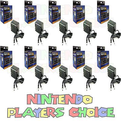 10 Ten LOT WHOLESALE NES SNES SUPER NINTENDO AC POWER SUPPLY ADAPTER CORDS NEW