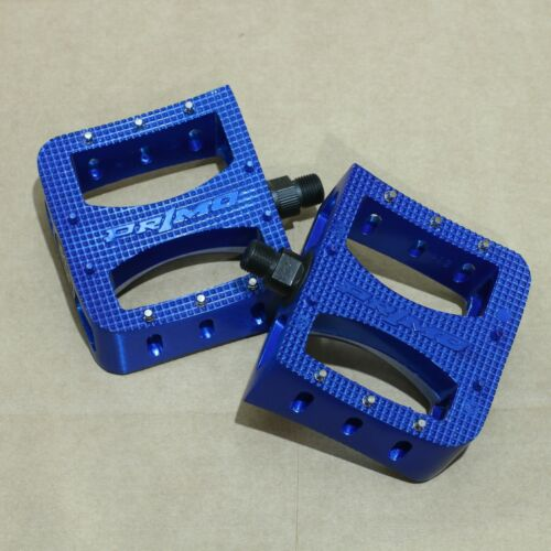 """PRIMO BMX SUPER TENDERIZER BICYCLE METAL PEDALS 9/16"""" BLACK SILVER BLUE GOLD RED"""