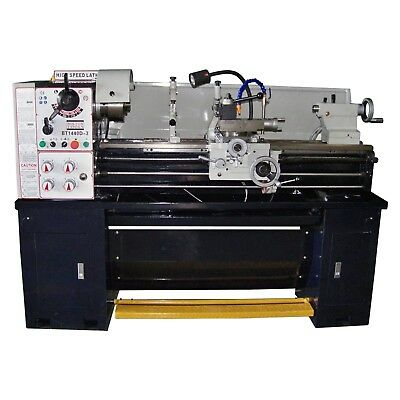 14 X 40 Precision Tool Room Metal Lathe Machine 3 Phase Power Free Shipping