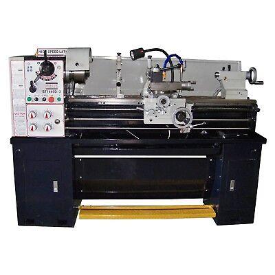 14 X 40 Precision Tool Room Metal Lathe Machine 3 Phase Power Free Shipping