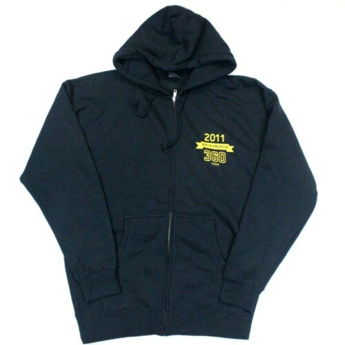 U2 360° Tour 2011 Full-Zip Hoodie Independent Trading Company - Blue - M