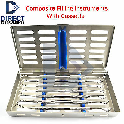 Dental Amalgam Composite Plastic Filling Instruments Restoration With Cassette