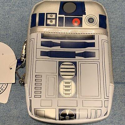 *Disney Parks*D-Tech Star Wars R2d2 Light Up Smart Cell Phone Case Wristlet*New for sale  Chula Vista