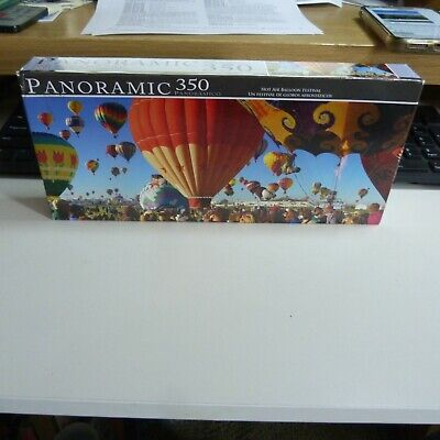 Panoramic Hot Air Balloon Festival 350 Piece Puzzle LPF 7030 SEALED