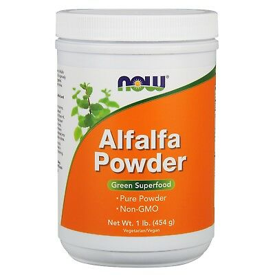 NOW Foods Alfalfa, Organic Powder, 1 lb.
