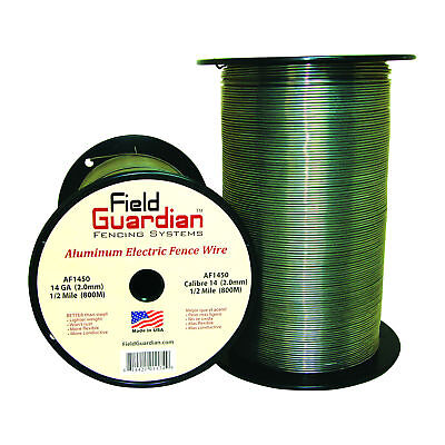 Field Guardian 14 Ga Aluminum Wire 12 Mile Electric Fence Af1450 814421011749